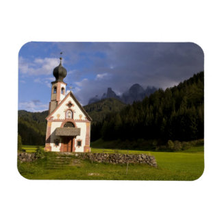 Beautiful isolated lonely church called Rainui Rectangle Magnet