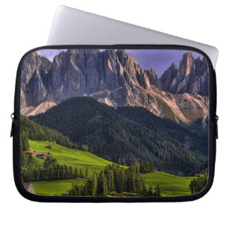 Beautiful isolated lonely church St Maddalena Laptop Computer Sleeve
