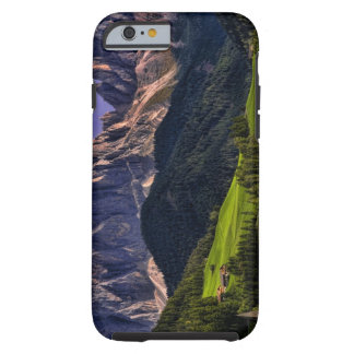 Beautiful isolated lonely church St Maddalena Tough iPhone 6 Case