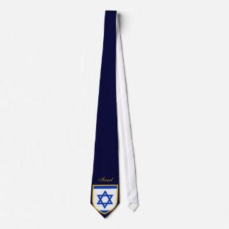 Beautiful Israel Flag Neck Tie