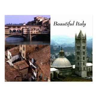 Beautiful Italia No 2 Postcard