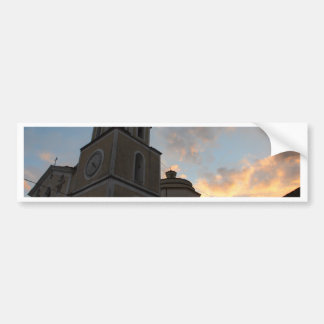 Beautiful Italian Church Car Bumper Sticker