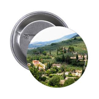 Beautiful italian landscape from Spello - Umbria Pin