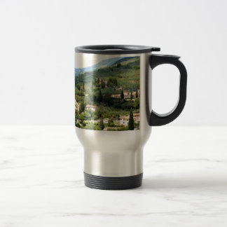 Beautiful italian landscape from Spello - Umbria Mug