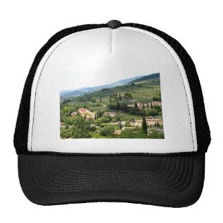 Beautiful italian landscape from Spello - Umbria Trucker Hat