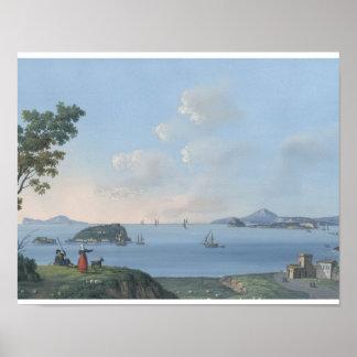 Beautiful Italian Landscape Painting Poster