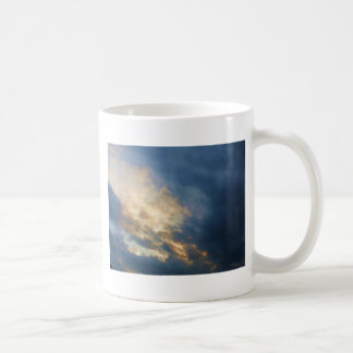 Beautiful Italian Sunset Sky with clouds Mugs