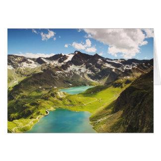 Beautiful Italy Agnel Lake Card