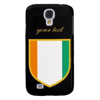 Beautiful Ivory Coast Flag Galaxy S4 Case