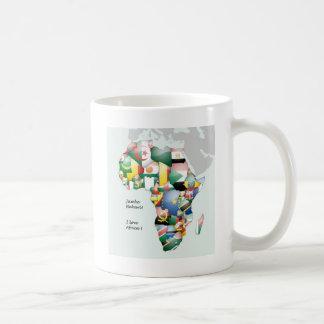 Beautiful Jambo Habari Africa ! I Love Africa Coffee Mug