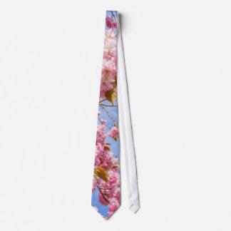 Beautiful Japanese cherry tree blossom Tie