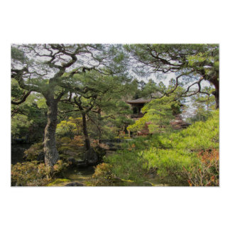 Beautiful Japanese Garden Poster