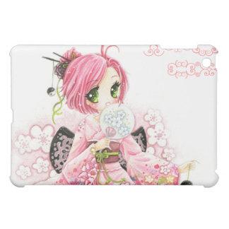Beautiful Japanese girl in Kimono Cover For The iPad Mini