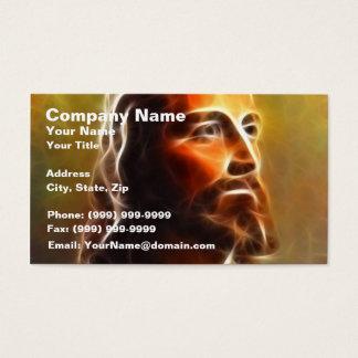 Beautiful Jesus Portrait Business Card