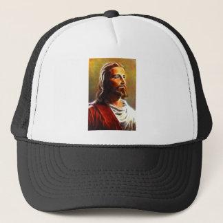 Beautiful Jesus Portrait Trucker Hat