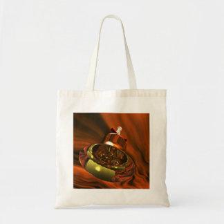 Beautiful Jingle Bell Budget Tote Bag