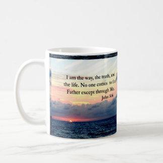 BEAUTIFUL JOHN 14:6 PHOTO DESIGN COFFEE MUG