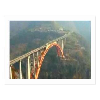 Beautiful Kashmir Valley - Himalaya India Postcard