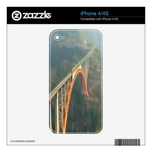 Beautiful Kashmir Valley - Himalaya India Decals For The iPhone 4
