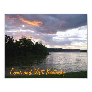 Beautiful Kentucky Sunrise Card