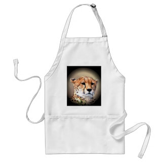 Beautiful Kenya Big Cats Cheetah Customize Product Adult Apron