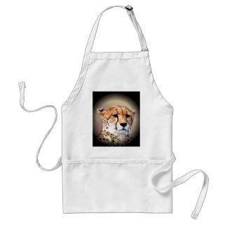 Beautiful Kenya Big Cats Cheetah Customize Product Adult Apron