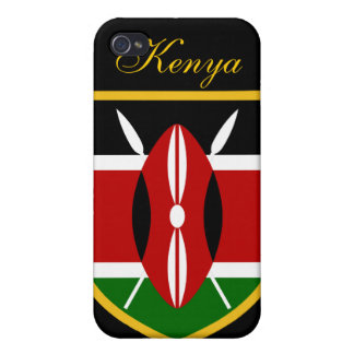 Beautiful Kenya Flag iPhone 4/4S Cover