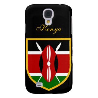 Beautiful Kenya Flag Samsung Galaxy S4 Cover