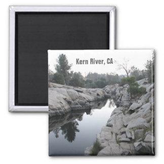 Beautiful Kern River Magnet! 2 Inch Square Magnet