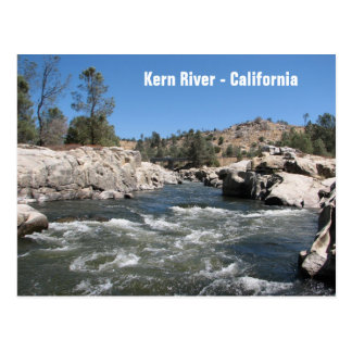 Beautiful Kern River Postcard! Postcard