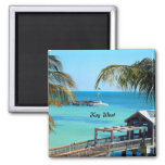Beautiful Key West 2 Inch Square Magnet