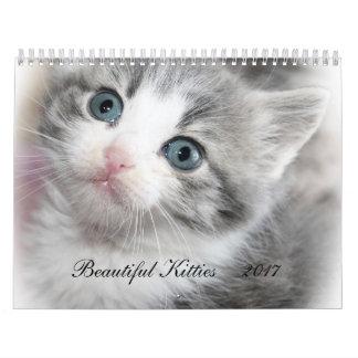 BEAUTIFUL KITTIES 2017 CALENDAR