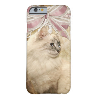 Beautiful kitty cat barely there iPhone 6 case