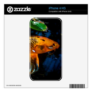 Beautiful Koi Skins For The iPhone 4