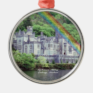 Beautiful Kylemore Abbey Connemara, County Galway Metal Ornament