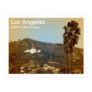Beautiful LA Observatory Postcard! Postcard