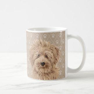 Beautiful Labradoodle Dog Paintings mug