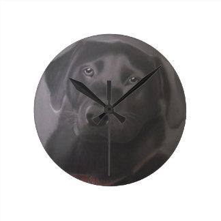 Beautiful Labrador Retriever Round Clock
