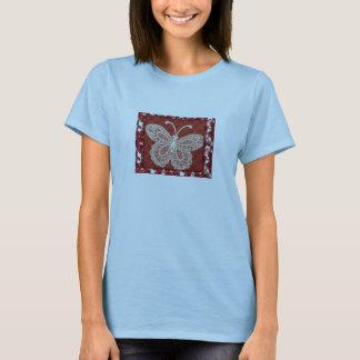 Beautiful Lace Butterfly T-Shirt