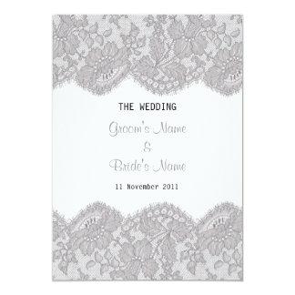 Beautiful Lace Design Invitation