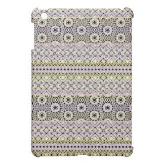 Beautiful Lace Lacy Crochet Knit Pattern iPad Mini Cover