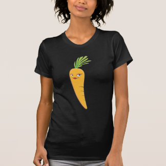 Beautiful Lady Carrot Vegetable T-shirts