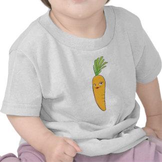 Beautiful Lady Carrot Vegetable Tee Shirt