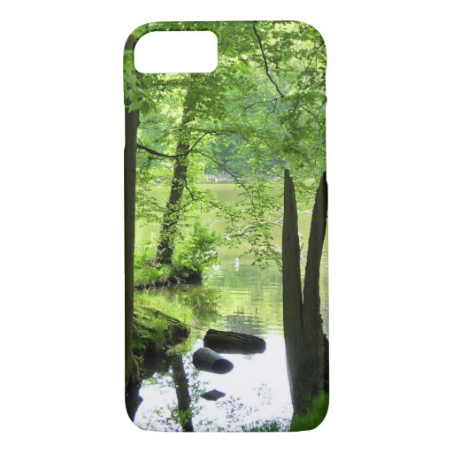 Beautiful lake and forest scenery iPhone 8/7 case