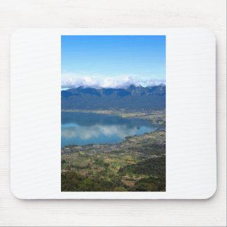 Beautiful Lake Maninjau caldera lake West Sumatra Mouse Pad
