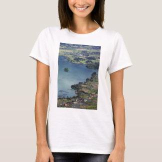 Beautiful Lake Maninjau caldera lake West Sumatra T-Shirt