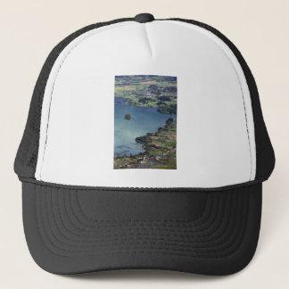 Beautiful Lake Maninjau caldera lake West Sumatra Trucker Hat