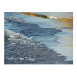 Beautiful Lake Michigan Shoreline Beach Postcard