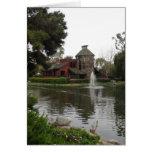 Beautiful Lake Scene Greeting Card