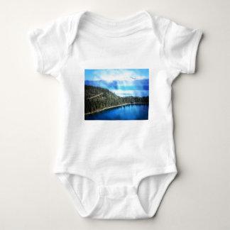 BEAUTIFUL LAKE TAHOE BABY BODYSUIT